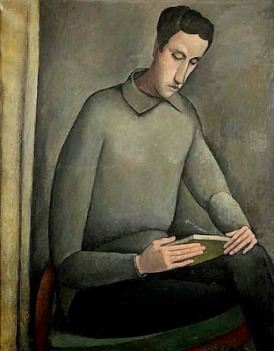 Sacharoff, Olga (1889-1967) Portrait of a gentleman reading