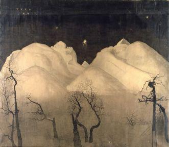 HARALD SOHLBERG winter-night-night-in